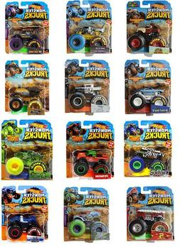 Hot Wheels Monster Trucks Assortment 1:64 Diecast You Choose