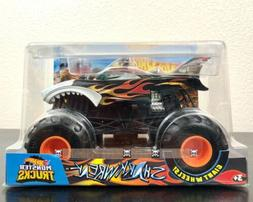 monster trucks shark wreak vehicle