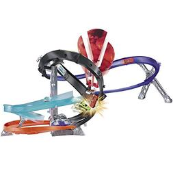 Hot Wheels Motorized Drop Force Track Set; Car Included