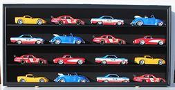 NASCAR Diecast Model Car Display Case Hot Wheels Wall Curio