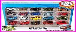 NEW Hot-Wheels 20 Car Gift Pack