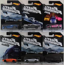 NEW 2018 Hot Wheels Fast and Furious Cars  w/ Combined Ship