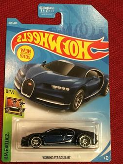 🔥 New HOT WHEELS 2019-236 HW EXOTICS '16 BUGATTI CHIRON 7