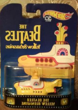 NEW Hot Wheels Beatles Yellow Submarine, 1:64 Scale - Play V