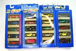New Hot Wheels Gift Pack Lot 50's Favorites, 60's muscle car