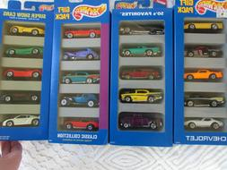New Hot Wheels Gift Pack Lot 50's Favorites, Show Cars, Clas