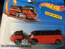 New Rare HTF Hot Wheels 2020 Volkswagen Custom Hauler-Black&
