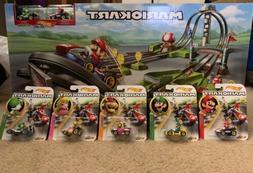 Hot Wheels Nintendo Mario Kart Mario Circuit Track set With