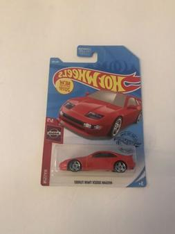 Nissan 300ZX Twin Turbo #110 Red 2019 Hot Wheels Case K
