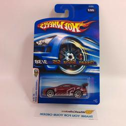 NIssan Silvia S15 #3 * Burgundy w/ 10sp * 2006 Hot Wheels *