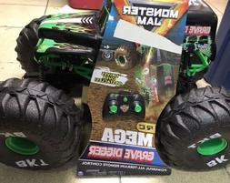 Monster Jam Official Mega Grave Digger All-Terrain Remote Co