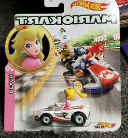 PEACH P-WING - Mario Kart Hot Wheels Character Cars