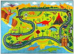 KC Cubs Playtime Collection Dinosaur Dino Safari Road Map Ed