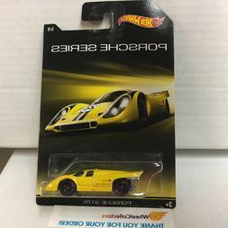 Porsche 917K * Yellow * Hot Wheels Porsche Series Walmart On