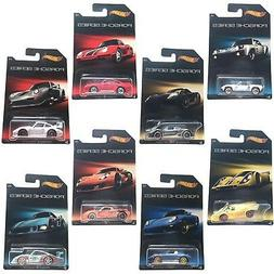Hot Wheels Porsche Series Exclusive 8 Car Set