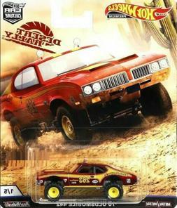 Hot Wheels Premium 2019 Car Culture K Case Desert Rally Set
