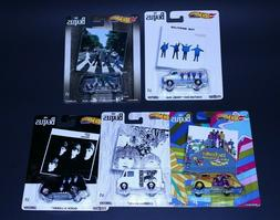 Hot Wheels Premium 2019 Pop Culture C Case - The Beatles - S