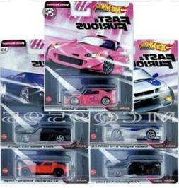 HOT WHEELS PREMIUM 2020 FAST & FURIOUS QUICK SHIFTERS -  5 C