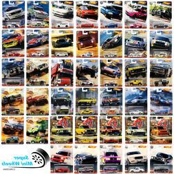 Hot Wheels Premium Car Culture 1:64 - You Choose - Update 12