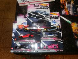 Hot Wheels Premium Fast and Furious Quick Shifters Complete