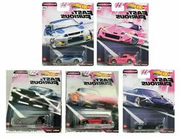 2020 Hot Wheels Fast and Furious Quick Shifters Set of 5 Car