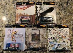 Hot Wheels Premium Pop Culture 2020 - Led Zeppelin Set of 5
