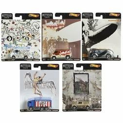 Hot Wheels Premium Pop Culture 2020 - Led Zeppelin Set of 5