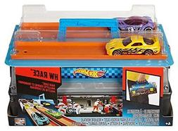 Race Case Track Set, Toys, Kids, Toddlers,  Dual Launcher, w