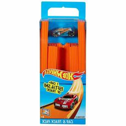 Hot Wheels Race Track Builder Includes 15 Feet of Straight T