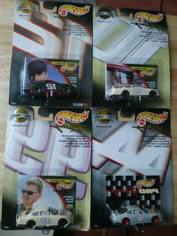 Hot Wheels Racing Test Track 1999 Set of 4 Rudd,Mayfield, Bu