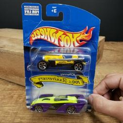 RARE Vintage 2000 Hot Wheels JCPenny 100th Anniversary 2pc S