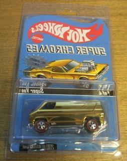 Hot Wheels RLC Rewards Series Super Chromes Gold Super Van #