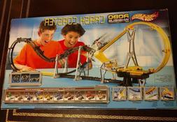 Hot Wheels Robo Wheels Crash Coaster Set / Track #57451 BNIB