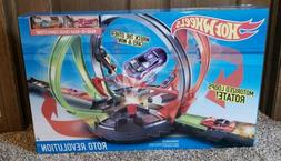 HOT WHEELS ROTO REVOLUTION TRACK SET.