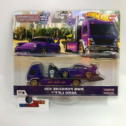 RWB Porsche 930 & Aero Lift * 2020 Hot Wheels Team Transport