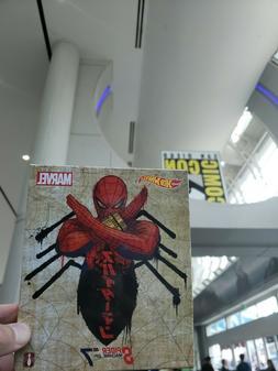 SDCC 2019 Mattel Hot Wheels Marvel Spider-Man Spider Machine