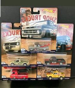 Set of 5 HOT WHEELS 50th Anniversary 2018 Car Culture *Shop