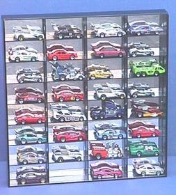 Protech Shadow Box Display Case for 32 Loose 1/64 Scale Redl