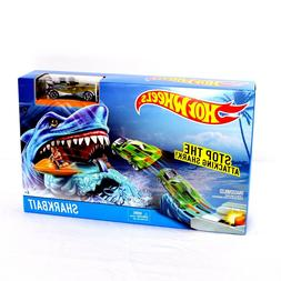 shark bait track play set