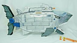 👉SHARK Car Carrier Transporter Storage JAWS Lights & Soun