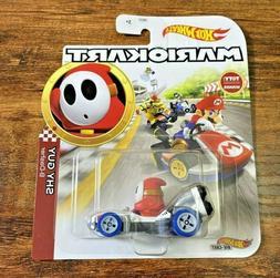 Shy Guy B-Dasher Hot Wheels Mario Kart Die-Cast Vehicle GJH6