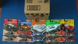 HOT WHEELS SILHOUETTES CASE 10 SKYLINE RWB PORSCHE CORVETTE