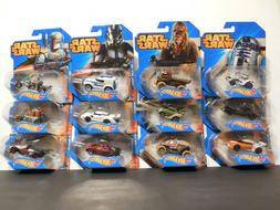 Star Wars Hot Wheels Character Cars 2-Packs 5-Packs Pick You