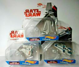 Star Wars Hot Wheels Die Cast Vehicles flight stand Disney