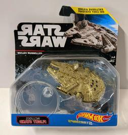 Star Wars Golden Millennium Falcon Die-Cast Exclusive Hot Wh