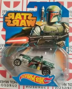 Star Wars Hot Wheels Boba Fett * Character Cars * NIP 1:64 S