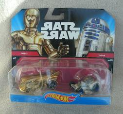 Hot Wheels  Star Wars R2-D2 and C-3PO Vehicle Gift Pack Car