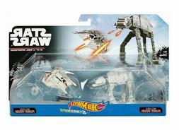 Hot Wheels Star Wars AT-AT vs. Rebel Snowspeeder Vehicles, 2