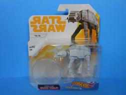 HOT WHEELS STAR WARS STARSHIPS AT-AT DIECAST VEHICLE YELLOW