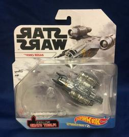 "Hot Wheels Star Wars Starships Mandalorian ""RAZOR CREST"" RAR"